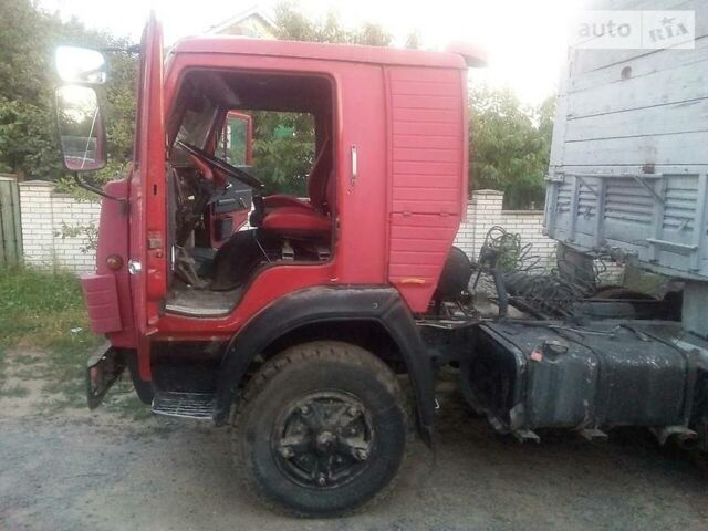 Красный КамАЗ 5410, объемом двигателя 0 л и пробегом 250 тыс. км за 7450 $, фото 1 на Automoto.ua