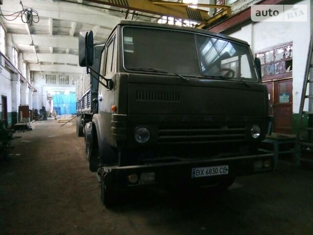 Зеленый КамАЗ 54112, объемом двигателя 7.2 л и пробегом 20 тыс. км за 6000 $, фото 1 на Automoto.ua