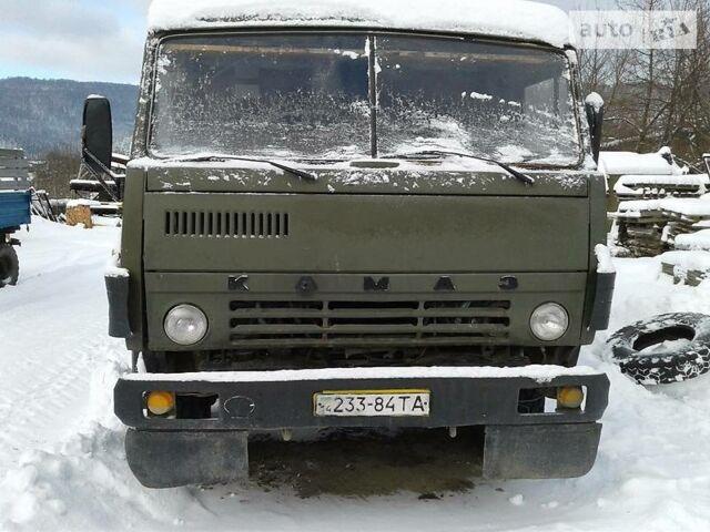 Зеленый КамАЗ 5510, объемом двигателя 10.8 л и пробегом 30 тыс. км за 5100 $, фото 1 на Automoto.ua