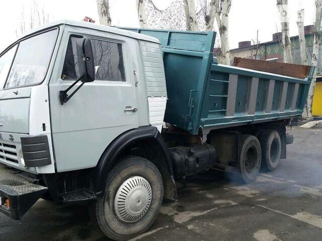 Серый КамАЗ 55102, объемом двигателя 10.9 л и пробегом 50 тыс. км за 17500 $, фото 1 на Automoto.ua