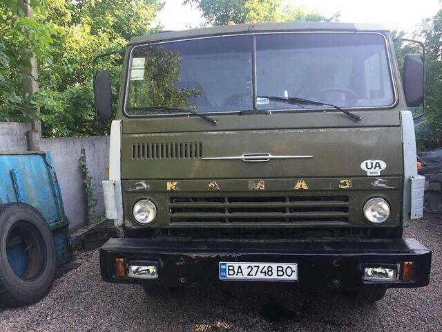 Зеленый КамАЗ 55102, объемом двигателя 11 л и пробегом 10 тыс. км за 12500 $, фото 1 на Automoto.ua