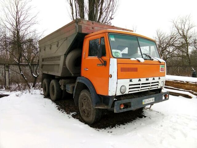 Оранжевый КамАЗ 55111, объемом двигателя 1.08 л и пробегом 50 тыс. км за 11500 $, фото 1 на Automoto.ua