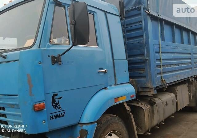 Синий КамАЗ 65117, объемом двигателя 0 л и пробегом 400 тыс. км за 17500 $, фото 1 на Automoto.ua