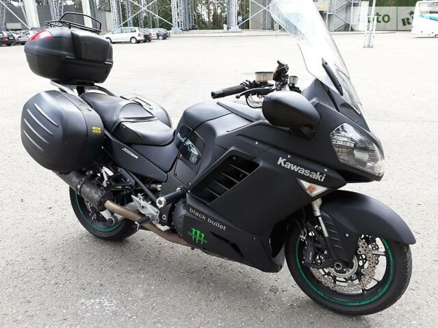 Чорний Кавасакі GTR, об'ємом двигуна 1.4 л та пробігом 52 тис. км за 7000 $, фото 1 на Automoto.ua