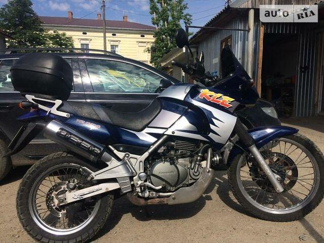Синий Кавасаки КЛЕ, объемом двигателя 0.5 л и пробегом 46 тыс. км за 2950 $, фото 1 на Automoto.ua