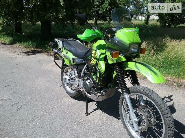 Зелений Кавасакі KLR, об'ємом двигуна 0.65 л та пробігом 1 тис. км за 3500 $, фото 1 на Automoto.ua