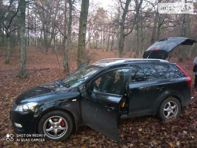 Черный Киа Сид, объемом двигателя 1.6 л и пробегом 200 тыс. км за 7500 $, фото 1 на Automoto.ua