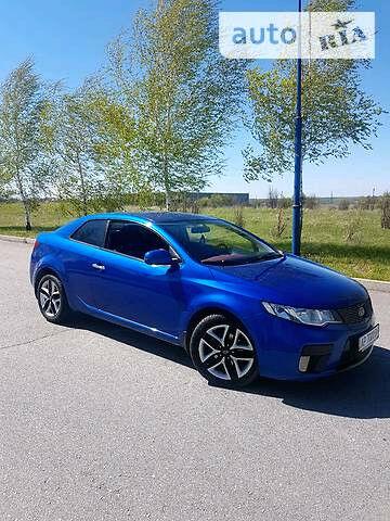 Синій Кіа Коуп, об'ємом двигуна 2 л та пробігом 89 тис. км за 12150 $, фото 1 на Automoto.ua