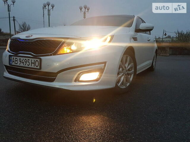 Белый Киа Оптима, объемом двигателя 2.4 л и пробегом 199 тыс. км за 11800 $, фото 1 на Automoto.ua