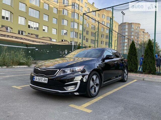 Черный Киа Оптима, объемом двигателя 2.4 л и пробегом 119 тыс. км за 11900 $, фото 1 на Automoto.ua