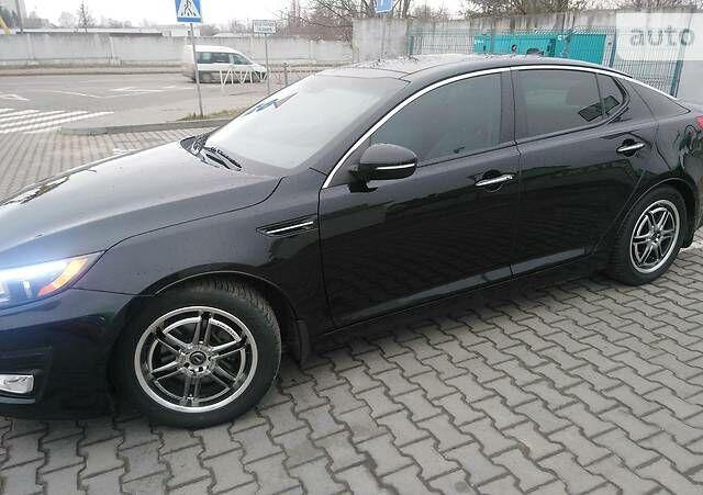 Черный Киа Оптима, объемом двигателя 2.4 л и пробегом 67 тыс. км за 12800 $, фото 1 на Automoto.ua