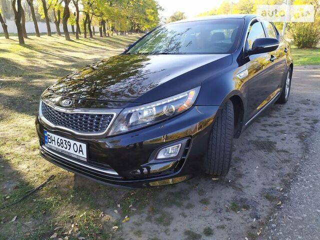 Черный Киа Оптима, объемом двигателя 2.4 л и пробегом 98 тыс. км за 13900 $, фото 1 на Automoto.ua