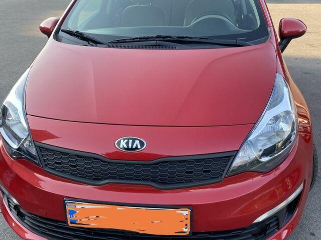 Красный Киа Рио, объемом двигателя 1.6 л и пробегом 50 тыс. км за 9750 $, фото 1 на Automoto.ua