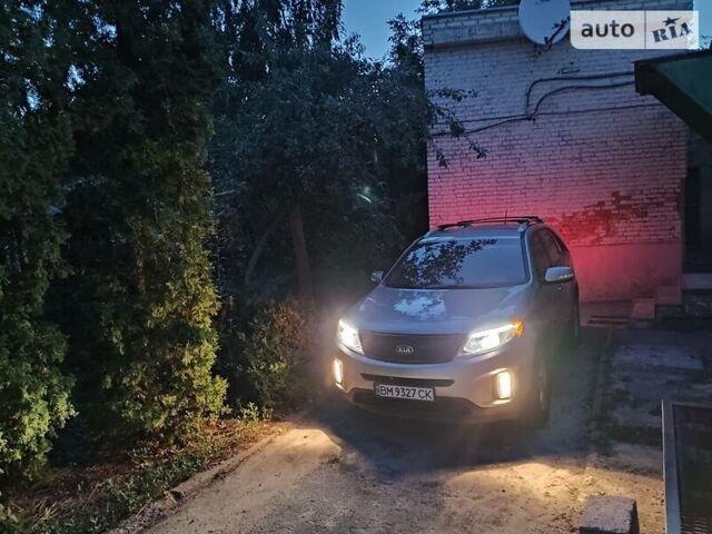 Серый Киа Соренто, объемом двигателя 2.4 л и пробегом 150 тыс. км за 13700 $, фото 1 на Automoto.ua