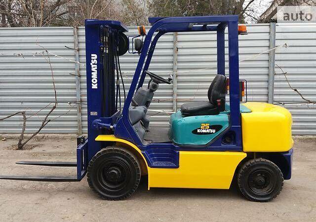 Синий Коматсу ФД, объемом двигателя 0 л и пробегом 1 тыс. км за 9400 $, фото 1 на Automoto.ua