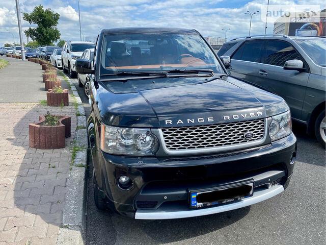 Чорний Ленд Ровер Range Rover Sport, об'ємом двигуна 5 л та пробігом 190 тис. км за 22500 $, фото 1 на Automoto.ua