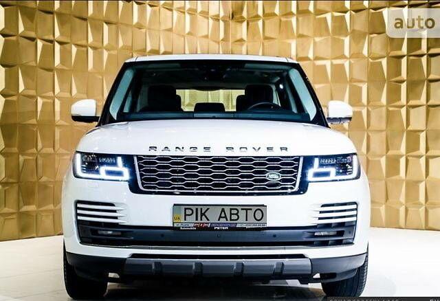 Білий Ленд Ровер Range Rover, об'ємом двигуна 2 л та пробігом 30 тис. км за 159800 $, фото 1 на Automoto.ua