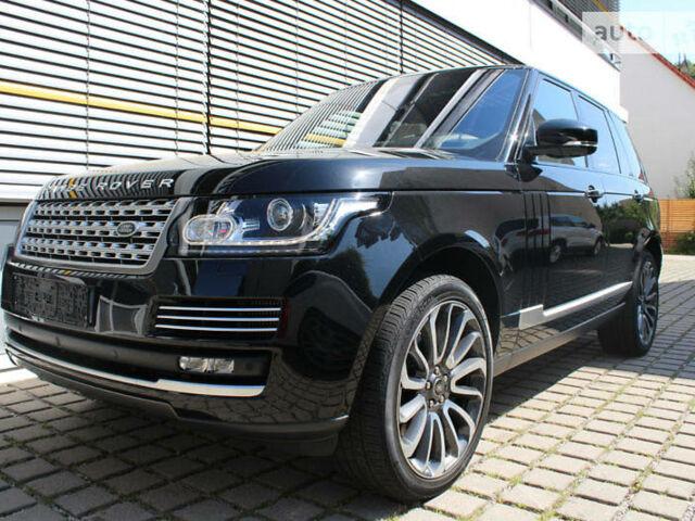 Чорний Ленд Ровер Range Rover, об'ємом двигуна 4.4 л та пробігом 34 тис. км за 158800 $, фото 1 на Automoto.ua