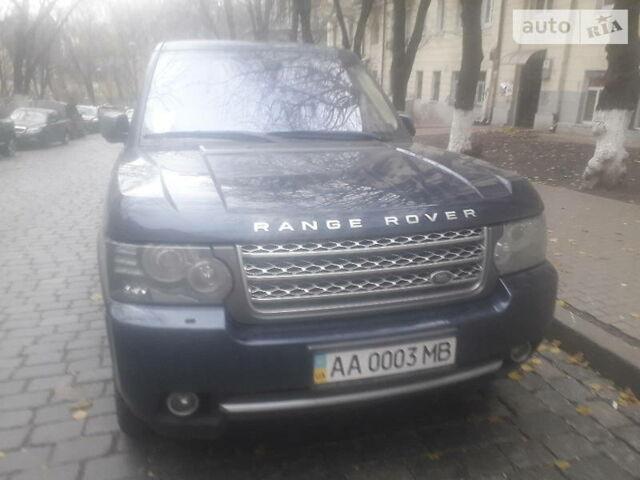 Синій Ленд Ровер Range Rover, об'ємом двигуна 5 л та пробігом 10 тис. км за 18886 $, фото 1 на Automoto.ua