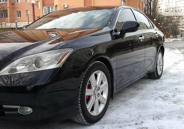 Чорний Лексус ЕС, об'ємом двигуна 3.5 л та пробігом 109 тис. км за 13800 $, фото 1 на Automoto.ua