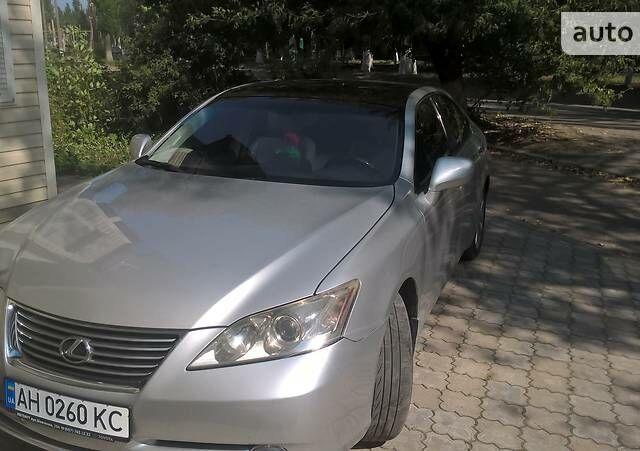 Серый Лексус ЕС, объемом двигателя 3.5 л и пробегом 223 тыс. км за 12500 $, фото 1 на Automoto.ua