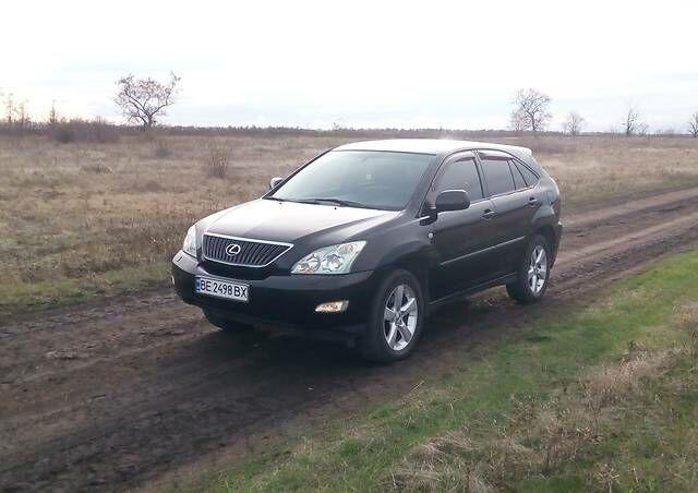 Черный Лексус РХ, объемом двигателя 3 л и пробегом 183 тыс. км за 12200 $, фото 1 на Automoto.ua
