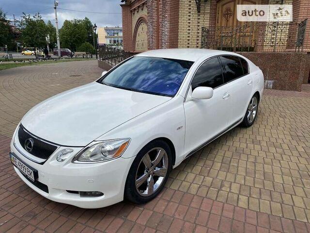 Белый Лексус GS 450h, объемом двигателя 3.5 л и пробегом 210 тыс. км за 12500 $, фото 1 на Automoto.ua