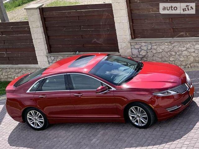 Червоний Лінкольн MKZ, об'ємом двигуна 2 л та пробігом 40 тис. км за 18500 $, фото 1 на Automoto.ua