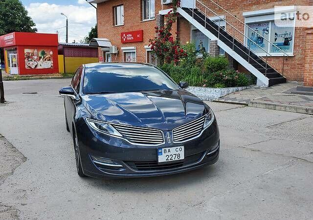 Синий Линкольн МКЗ, объемом двигателя 0 л и пробегом 82 тыс. км за 17000 $, фото 1 на Automoto.ua
