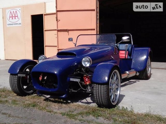 Синий Лотус Супер Севен, объемом двигателя 3 л и пробегом 10 тыс. км за 9999 $, фото 1 на Automoto.ua