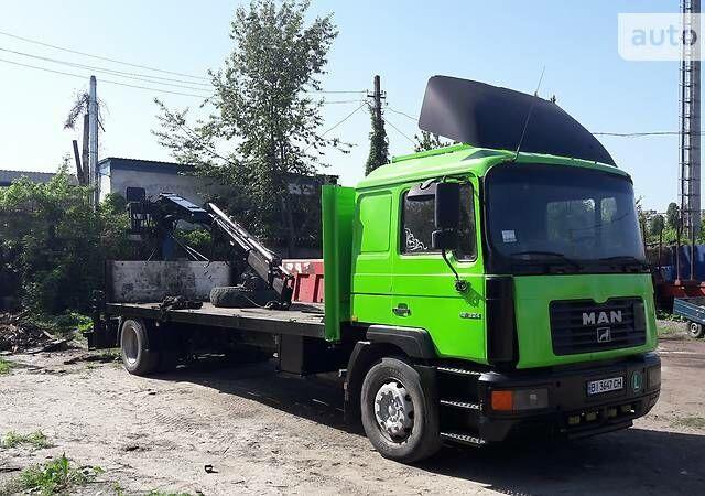 Зеленый МАН 18.225, объемом двигателя 6.9 л и пробегом 480 тыс. км за 12500 $, фото 1 на Automoto.ua