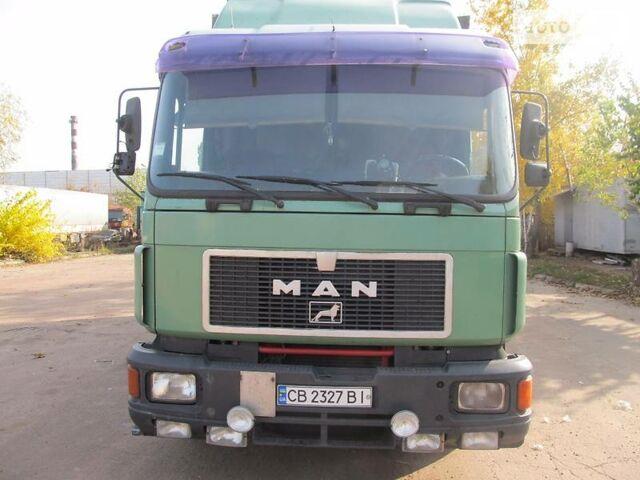 Зеленый МАН 19.372, объемом двигателя 11.8 л и пробегом 196 тыс. км за 10200 $, фото 1 на Automoto.ua