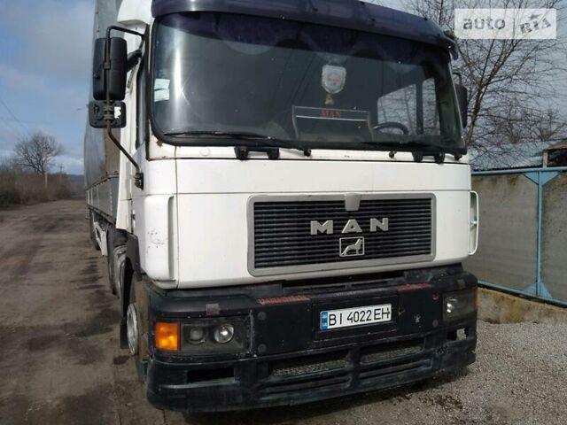 Белый МАН 19.403, объемом двигателя 11.97 л и пробегом 800 тыс. км за 5200 $, фото 1 на Automoto.ua