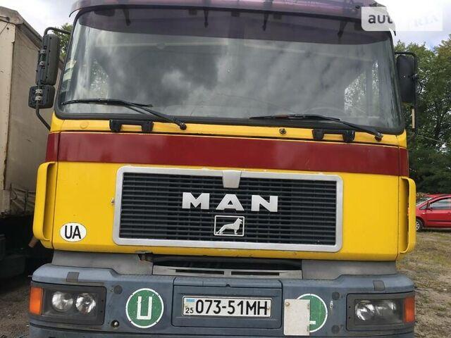 Оранжевый МАН 19.403, объемом двигателя 0 л и пробегом 500 тыс. км за 5100 $, фото 1 на Automoto.ua