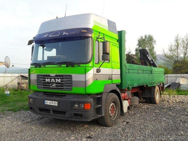 Зеленый МАН 19.422, объемом двигателя 12 л и пробегом 1 тыс. км за 22500 $, фото 1 на Automoto.ua