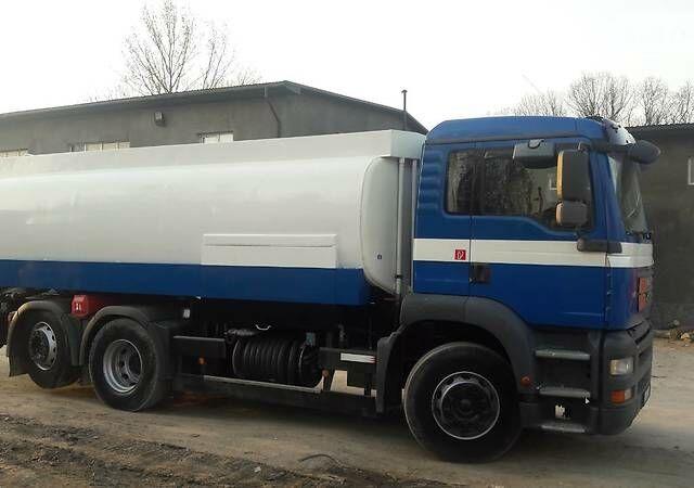 Синий МАН 26, объемом двигателя 10.5 л и пробегом 682 тыс. км за 42000 $, фото 1 на Automoto.ua