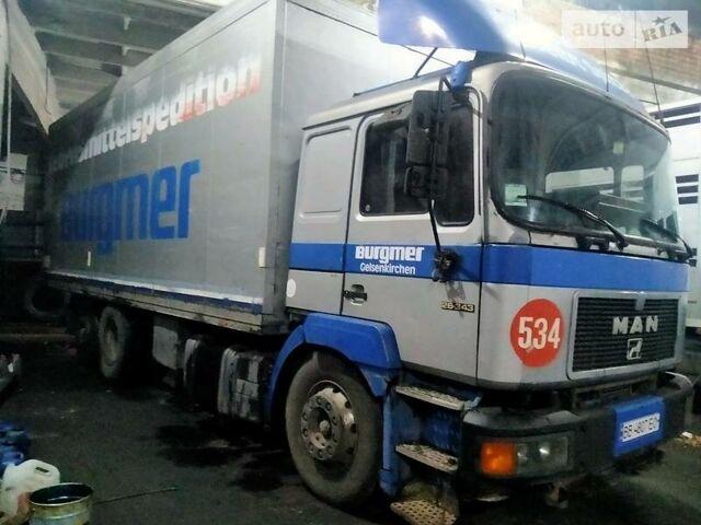 Серый МАН 26.343, объемом двигателя 10 л и пробегом 800 тыс. км за 10000 $, фото 1 на Automoto.ua
