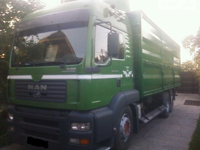 Зеленый МАН 26.430, объемом двигателя 10.5 л и пробегом 890 тыс. км за 34999 $, фото 1 на Automoto.ua