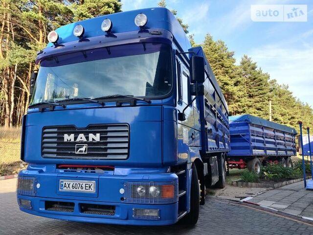 Синий МАН 26.460, объемом двигателя 0 л и пробегом 850 тыс. км за 30000 $, фото 1 на Automoto.ua