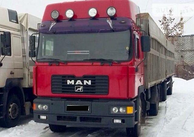 Красный МАН 26.464, объемом двигателя 12 л и пробегом 100 тыс. км за 23500 $, фото 1 на Automoto.ua
