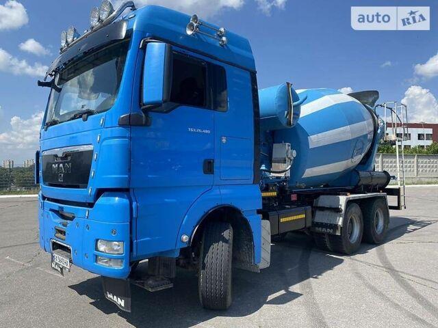 Синий МАН 26.464, объемом двигателя 12.4 л и пробегом 835 тыс. км за 49000 $, фото 1 на Automoto.ua
