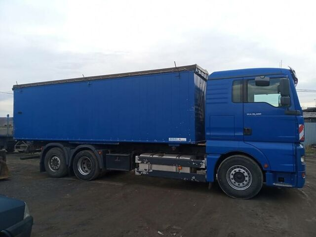 Синий МАН 26.480, объемом двигателя 12 л и пробегом 890 тыс. км за 25500 $, фото 1 на Automoto.ua