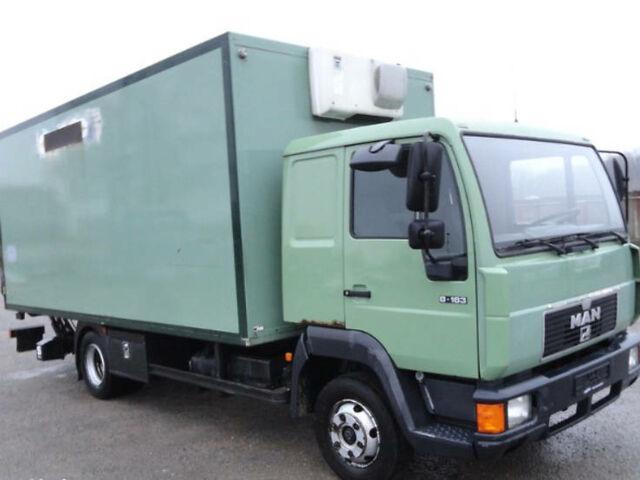 Зелений МАН 8.163, об'ємом двигуна 4.6 л та пробігом 399 тис. км за 5200 $, фото 1 на Automoto.ua
