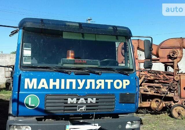 Синій МАН 8.180, об'ємом двигуна 4.6 л та пробігом 650 тис. км за 16000 $, фото 1 на Automoto.ua
