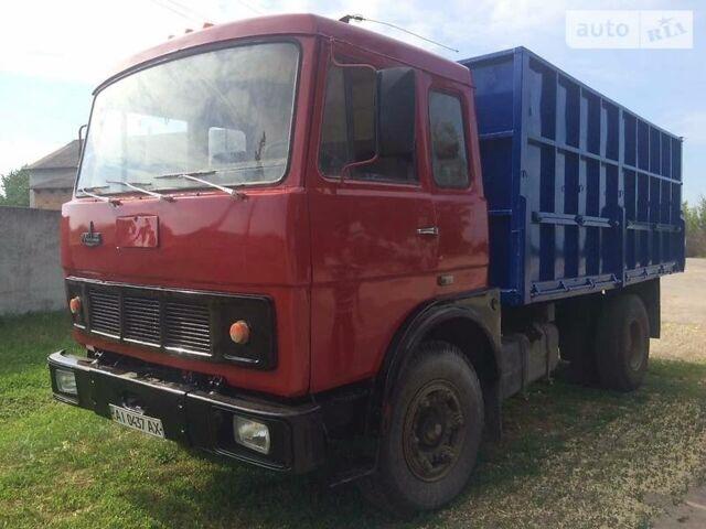 Красный МАЗ 53371, объемом двигателя 14 л и пробегом 20 тыс. км за 11500 $, фото 1 на Automoto.ua