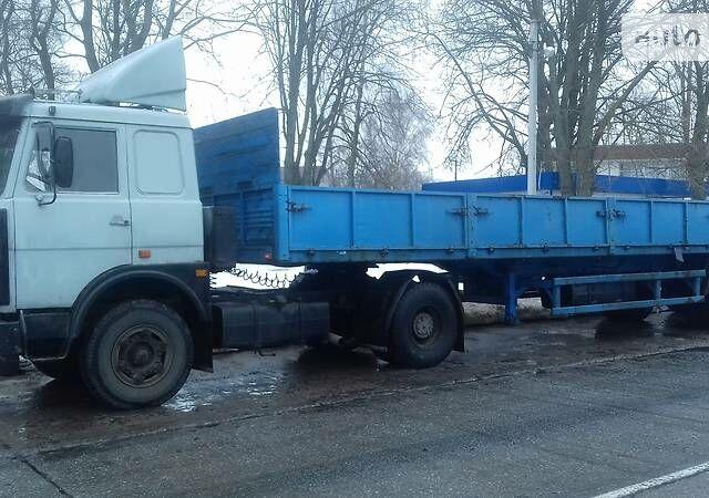 Сірий МАЗ 54323, об'ємом двигуна 14.9 л та пробігом 284 тис. км за 6300 $, фото 1 на Automoto.ua