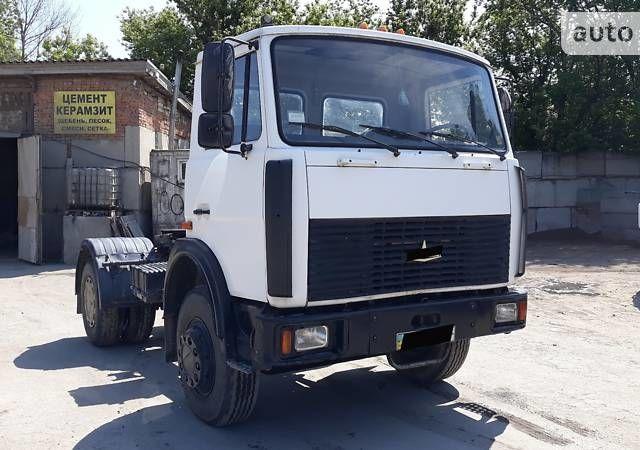 Білий МАЗ 5433, об'ємом двигуна 11.15 л та пробігом 132 тис. км за 10500 $, фото 1 на Automoto.ua
