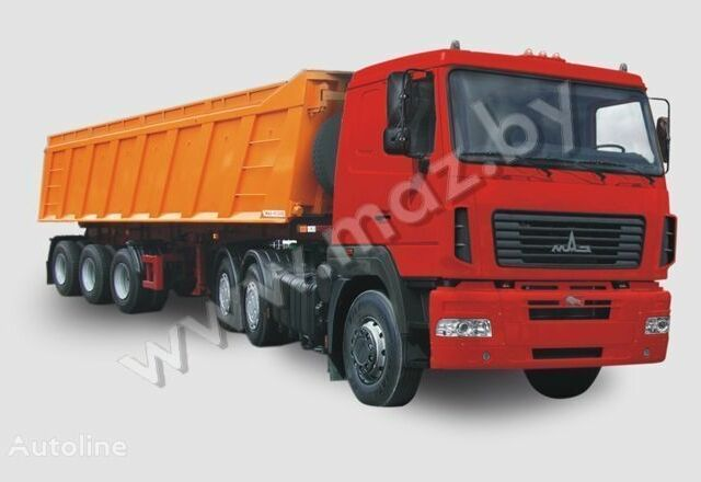 МАЗ 6430А8, объемом двигателя 0 л и пробегом 1 тыс. км за 0 $, фото 1 на Automoto.ua
