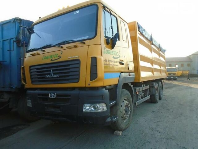 Оранжевый МАЗ 650108, об'ємом двигуна 14.86 л та пробігом 130 тис. км за 13394 $, фото 1 на Automoto.ua