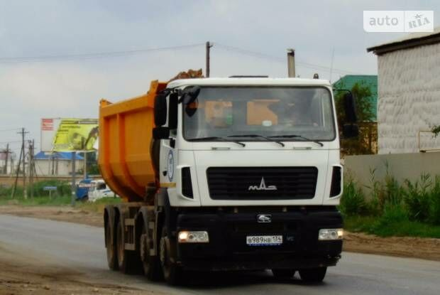 МАЗ 6516В8, об'ємом двигуна 0 л та пробігом 1 тис. км за 104477 $, фото 1 на Automoto.ua